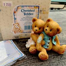 Enesco Cherished Teddies Seth and Sarabeth #128015 We're Beary Good Pals