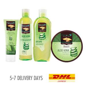 [HERBORIST] Set B Aloe Vera Essential Pack Face Body Wash Scrub Shampoo