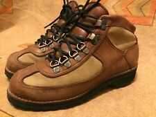 Distressed Danner Mountaineering Brown Leather Lace Up Ankle Hiking Boots 8 M