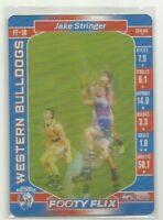 2017 AFL TEAMCOACH FOOTY FLIX WESTERN BULLDOGS JAKE STRINGER FF18 CARD