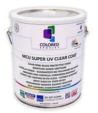Top Coat Epoxy Finish Moisture-Cured Polyurethane, UV resistant, 1 GALLON