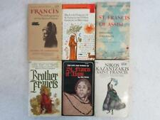 Lot of 6 Books SAINT FRANCIS Biographies, Writings & A Novel
