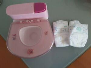 Baby Born  Toilette mit 2 Pampers super