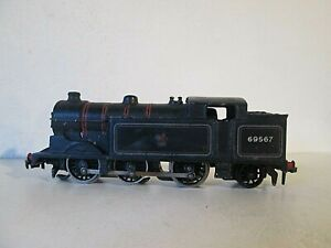 HORNBY DUBLO 3 RAIL EDL17 0-6-2 N2 CLASS BR 69567 TESTED
