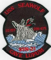 US Navy SSN-21 USS Seawolf Submarine Patch Military Insignia Patch