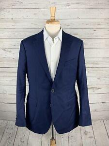 Joseph Abboud Heritage Blue Two Button Slim Fit SUPER 100's Sport Coat Mens 42R