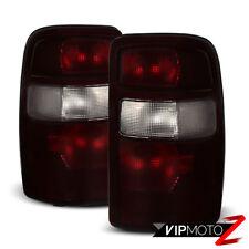 2000-2006 Tahoe Suburban Yukon Denali RED SMOKE Rear Stop Tail Lights LEFT+RIGHT