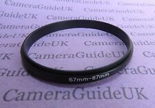 67mm-67mm Male to Male Double Coupling Ring reverse macro Adapter 67mm-67mm