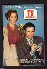 TV SHOWTIME Lawrence Pressman Louise Sorel LADIES' MAN Cleveland Press Magazine