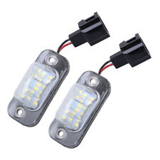 2x LED License Plate Light Lamp Fit For VW Golf 3 Cabrio Polo Variant Seat