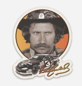 Dale Earnhardt NASCAR Retro Vinyl Sticker Decal