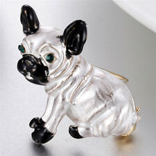Dog Enamel Brooch Pin Animal Badge Mental Pin Clip Accessories Cute Jewelry 0w Gold