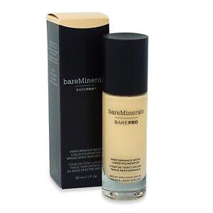 bareminerals BarePro Performance Wear Liquid Foundation SPF 20 DAWN 02 1 oz New