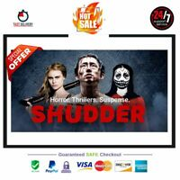 Shudder Horror Thrillers Subscription account | 1 Year WARRANTY |