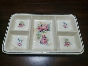 Antique Ovenproof Divided Tray