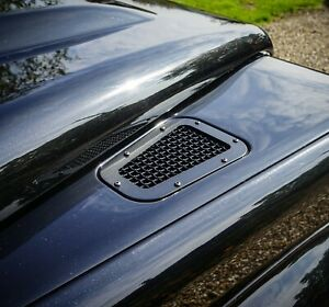 Land Rover Defender Stainless steel Stealth wing top vents - Uproar 4x4