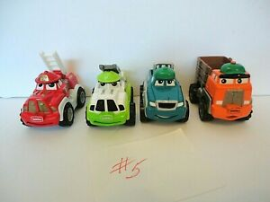Lot of 4 Tonka Lil' Chuck and Friends Group #5 Maisto Die Cast Plastic Hasbro