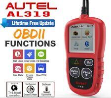 Audi A3 OBD2 Autel AL319 Car Fault Code Reader Erase Reset Scanner Tool OBDII