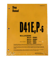 Komatsu D41E-6, D41P-6 Bulldozer Workshop Repair Service Manual - # SEBD007007
