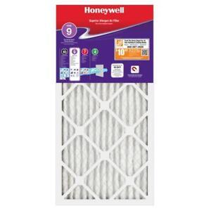 Honeywell Air Filter 14 x 30 x 1 Superior Allergen Pleated MERV 11 - FPR 9