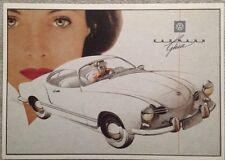 VW Karman Ghia Post Card 1st On eBay Car Poster. Own It!