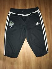 Adidas Seattle Sounders Half Length Pants Mens Large