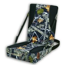 Seat Tree Stand Cushion Thermal Wedge Hunting Outdoor Waterproof Padded Camo
