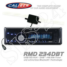 Caliber rmd234dbt radio usb sd aux in DAB + FM le périphérique tuner Bluetooth Autoradio + Antenne
