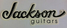 JACKSON GUITARS Giant Classic Logo Sticker NEW OFFICIAL MERCHANDISE Heavy Metal