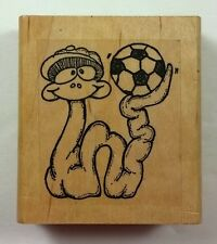 Soccer Snake Rubber Stamp The Stamp Store Jane Miller Sports