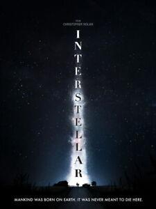 V4013 Interstellar Christopher Nolan Amazing 2014 Movie POSTER PRINT Affiche