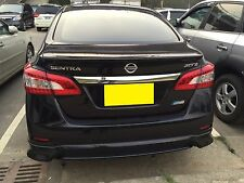REAR LIP SPOILER ABS For NISSAN SENTRA 2013-2019 Sedan Unpainted
