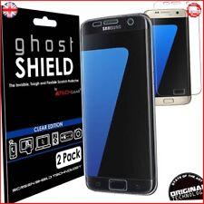 Pack of 2 TECHGEAR Samsung Galaxy S7 Edge ghostSHIELD Edition Genuine Reinforced