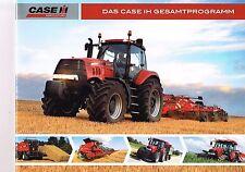 Das Case IH Gesamtprogramm, orig. Prospekt 2008