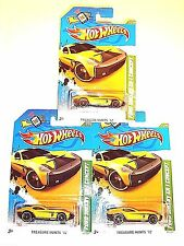 LOT OF THREE FORD SHELBY GR-1 CONCEPT HOT WHEELS TREASURE HUNTS