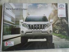 Toyota Land Cruiser range brochure Jun 2014