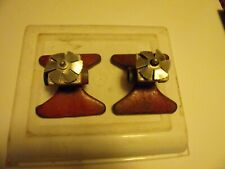 SQUARE SPRAY GETS THE CORNERS WATER SPRAYER METAL VINTAGE TWO RED