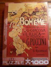 Adolfo Hohenstein La Boheme Puccini Jigsaw Puzzle Eurographics 1000 pcs