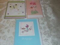Handmade 3 set Greeting Card Matching Envelope Celebration Birthday Any Occasion