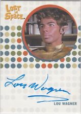 THE COMPLETE LOST IN SPACE LOU WAGNER AS J-5 RARE UNRELEASED AUTOGRAPH