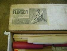 "FLINGER RC Hand Launch Glider Sailplane Balsa Kit Vintage Classic RC 57""WS *RARE"