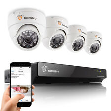 CCTV System 8CH DVR + 4x 800TVL Indoor Dome Camera Home Security Remote View