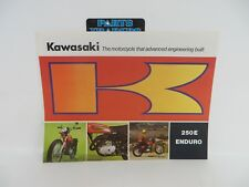 NOS Genuine Kawasaki Dealer Sales Brochure F8 250E Enduro