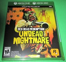 Red Dead Redemption: Undead Nightmare Microsoft Xbox 360 + Xbox One! New!