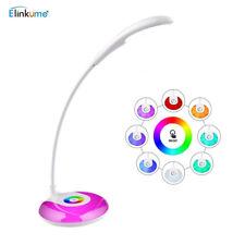 LED Schreibtischlampe Tischlampe lernen Dimmbar USB wiederaufladbar einstellbar