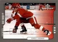 2000-01 Upper Deck MVP Third Stars Sergei Fedorov #69 Tw209