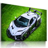 LAMBORGHINI VENENO GRAPHITE Sports Cars Wall Art Canvas Picture  AU721  MATAGA .