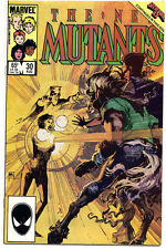 The New Mutants 30 August 1985 Marvel Comic Book Signed by Sienkiewicz NM Unread