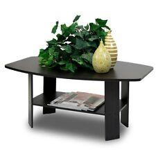 New Modern Simple Design Coffee Table Espresso Furniture Rectangular Living Room
