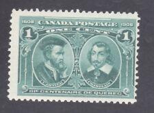 CANADA STAMP #97  --- 1c TERCENTENARY - 1908 - MINT